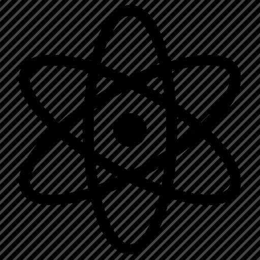 atom, atomic, chemistry, science icon icon