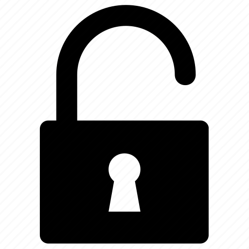 lock, secure, unlock, unlocked icon icon