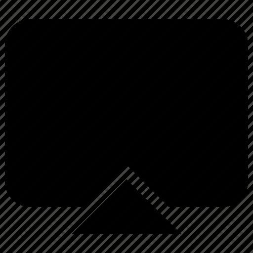 monitor, pc, screen, wide icon icon