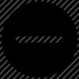 block, remove, stop icon icon