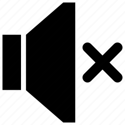 music, off, speaker, volume icon icon