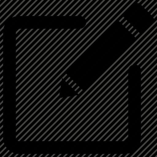 compose, edit, interface, pen, pencil icon icon