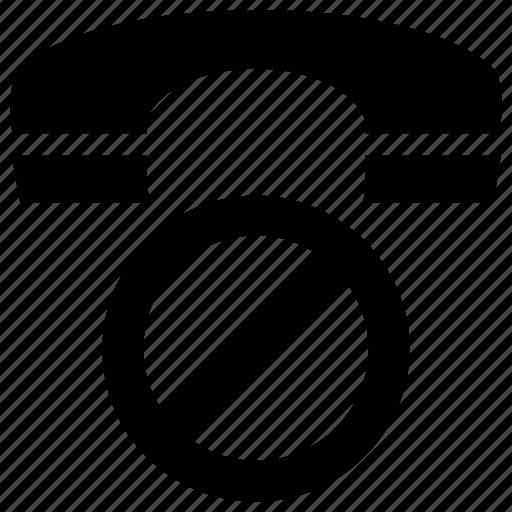 block, call, communication, phone icon icon