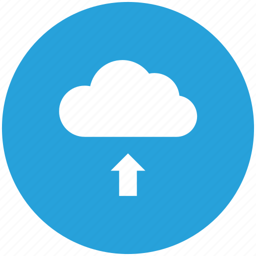 cloud, data, storage, upload icon icon