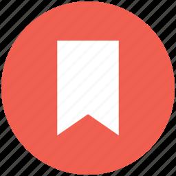 bookmark, flag, mark, marker icon icon