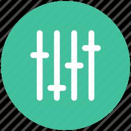 control, eq, preferences, settings icon icon