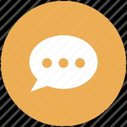 bubbles, chat, chat bubbles, chatting, comment, conversation, messages icon icon