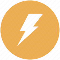 charge, electric, electricity, forecast, lightning, power, weather icon icon