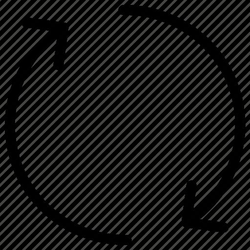 arrow, refresh, reload, rotate icon icon