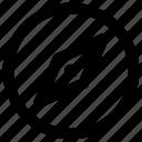 compas, navigate icon icon