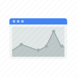 design, graph, interface, layout, statistics, web, window icon