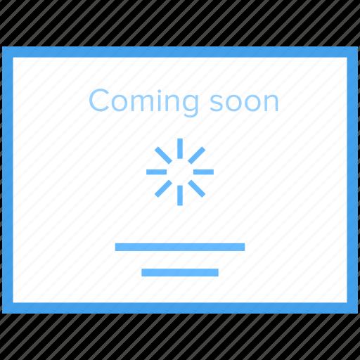 new website, web development, website announcement, website coming soon, website under construction icon