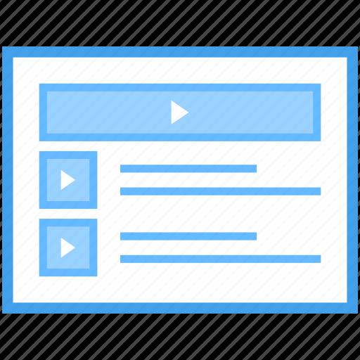 internet video, online video, video blog, video marketing, videography, web video icon