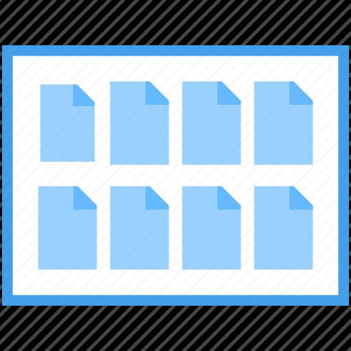 file folder, online documentation, online folder, web document, web file icon