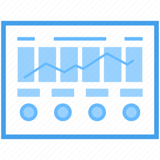 analytics, bar chart, business chart, statistic trend, trend chart icon