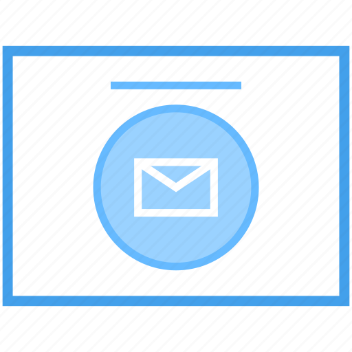 electronic mail, electronic message, email, mail message, webmail, written correspondence icon