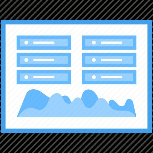 data analytics, seo performance, web analytics, website dashboard, website statistics icon