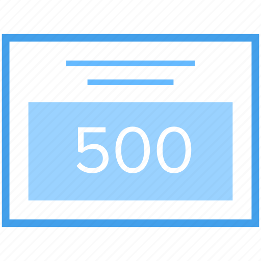 error 500, error page, network error, page not found, server error, web error icon