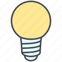 bulb, business, creativity, idea, light, light bulb, power icon