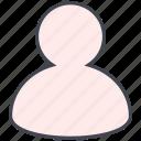 account, avatar, interaction, interface, person, profile, user icon