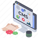 article, blogging, cms software, content management, copywriting icon