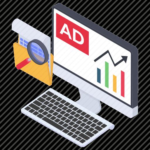 banner, digital ad, internet ad, online ad, online advertisement, promotion icon