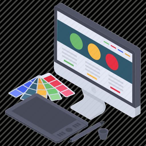 computer artwork, graphic designing software, web art, web designing software, web graphic icon