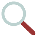 find, lens, search icon