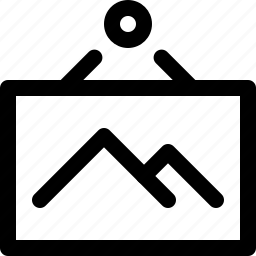 pic, picture icon