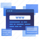 website, web, marketing, online, seo, internet of things, browser icon