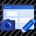 article, content, online, photo, web, picture, blogger