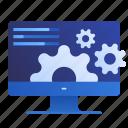 config, development, online, optimization, performance, web icon
