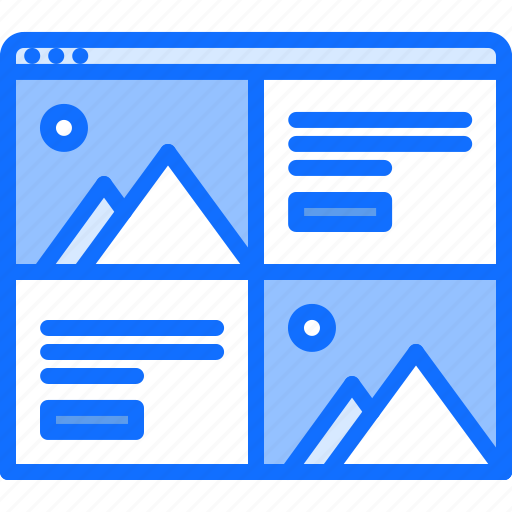 Content, page, picture, text, ui, website icon - Download on Iconfinder