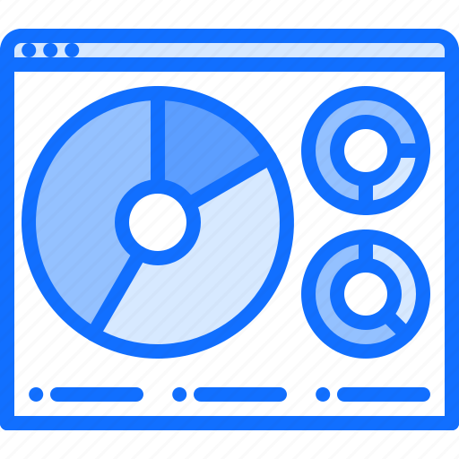 chart, content, metrics, page, pie, ui, website icon