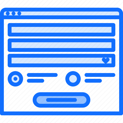 Content, form, page, radio, ui, website icon - Download on Iconfinder