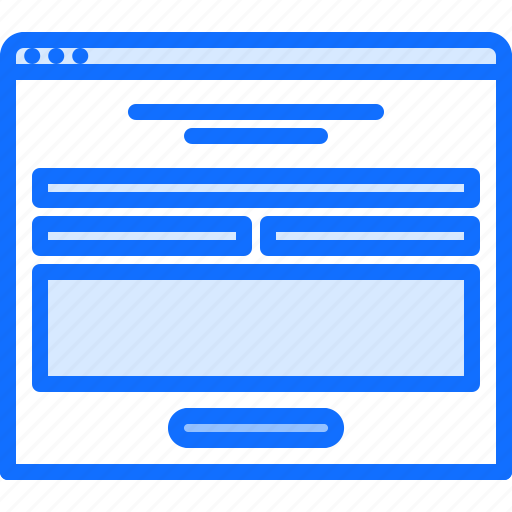 content, form, page, ui, website icon