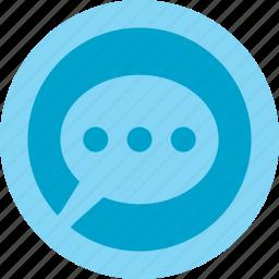 aplication, babble, chat, internet, online, talk, web icon