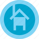 aplication, home, house, internet, online, start, web icon