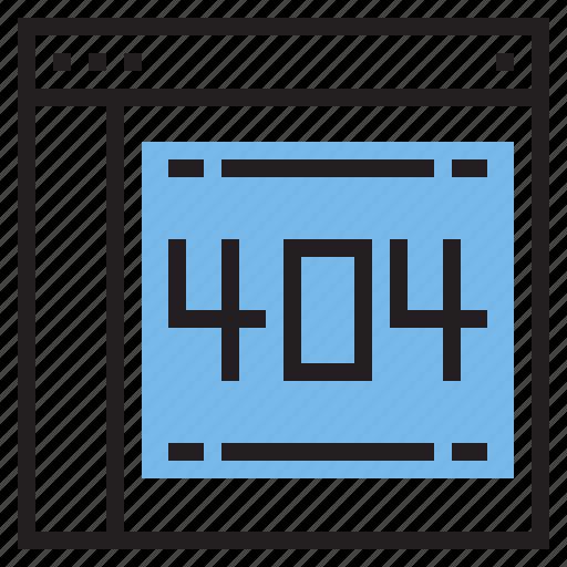 error, interface, internet, layout, page, ui icon