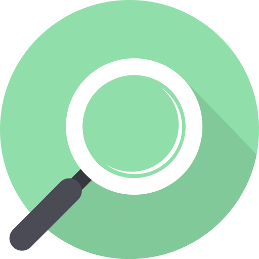 find, look, magnifying glass, search icon