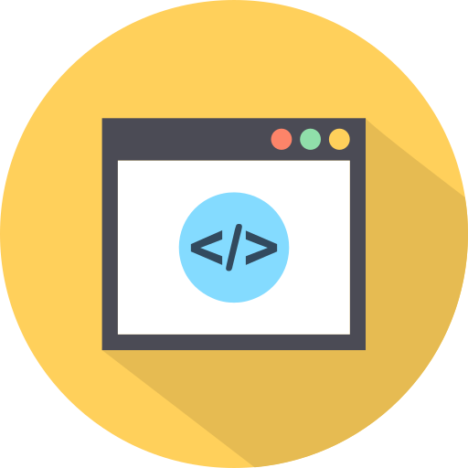 coding, html, markup, tag icon