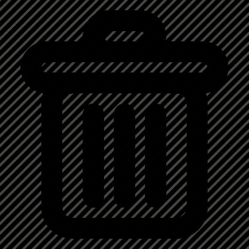 delete, destroy, recycle, remove, trash, trashcan, web icon
