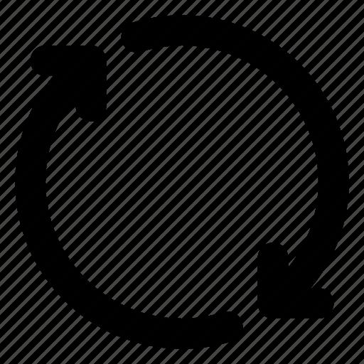 app, loop, refresh, reload, rewind, ui, web icon