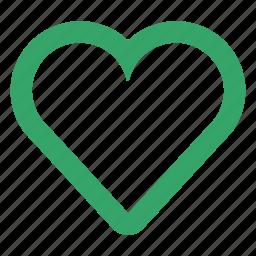 cardio, favorite, health, heart, love, valentine, web icon