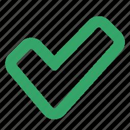 agree, agreement, approve, check, checklist, ok, web icon
