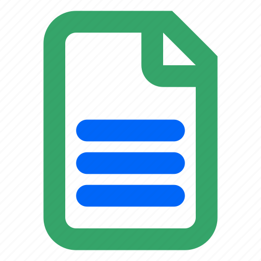 doc, folder, info, open, paper, read, web icon