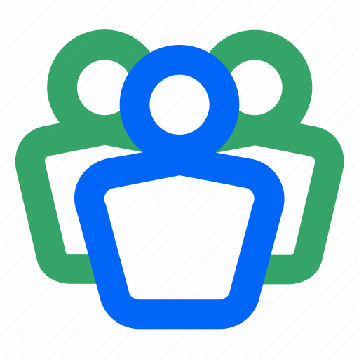 affiliates, employees, group, team, users, web, workers icon
