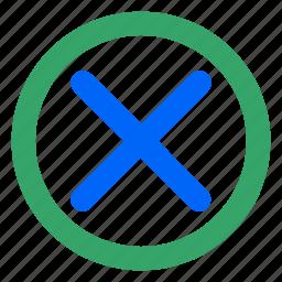 close, end, exit, minimize, ui, web, website icon