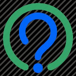 faq, help, info, information, mark, question, web icon