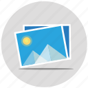 images, landscape, photo, photography, picture, sunshine icon